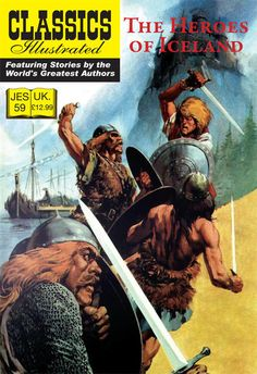Cover for Classics Illustrated (JES) (Classic Comic Store, 2008 series) #59 - The Heroes of Iceland