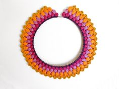 Crochet collar inspiration....