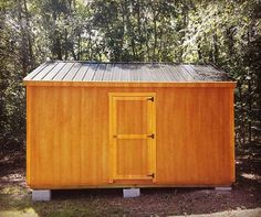 Cedar with Black Metal Roof. The Fisher Barns Workshop. #workshop #storage #tools #mancave #fisherbarns http://ift.tt/2chyIDs
