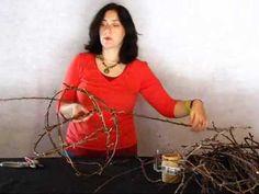 DIY Twig Ball and Calla Lily - YouTube