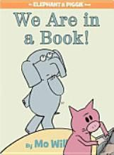 I LOOOOVE Piggie and Elephant books!  This one teaches kids about the parts of a book. So funny!