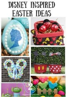 Check out this post for the best DISNEY Easter Ideas! Because everything is better with a little Disney! easter images Disney Inspired Easter Ideas: Egg Decorating, Crafts, Food and Disney Diy Crafts, Crafts To Do, Adult Crafts, Bead Crafts, Easter Crafts, Easter Ideas, Easter Decor, Easter Centerpiece, Easter Recipes