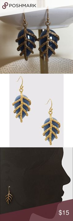 """Branch Accents Resin Drop Earrings Branch Accents Resin Drop Earrings. Nickel and lead free. Approx length 1.5"""". Refer to pic 3 for sizing Bchic Jewelry Earrings"""