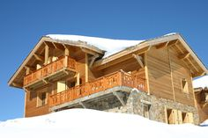 Chalet Les Carines - sleeps up to 14, has a sauna!