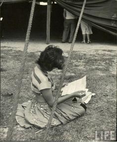 The girls of the circus (1949) - Life Magazine.