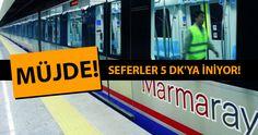 İstanbullulara müjdeli haber geldi. İstanbul'daki Marmaray seferlerinin artırılacağı açıklandı. İstanbul'daki Marmaray Seferleri Bugünden İtibaren Artırılıyor! Ulaşımda önemli derece rol oynayan İstanbul'daki Marmaray seferleri bugün itibariyle 219 tane olan sefer sayısı 333 sefere çıkartılacak. İki sefer arasında minimum 10 dk olan süre hafta içleri en yoğun saatlerde 5 dk'ya kadar inecek. Marmaray her gün İstanbul'da milyonlarca …