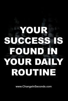 Weight Loss Motivation Your success is found in your daily routine! Weight Loss Motivation Your success is found in your daily routine! Gewichtsverlust Motivation, Weight Loss Motivation, Motivation Inspiration, Fitness Inspiration, Exercise Motivation, Style Inspiration, Life Quotes Love, Great Quotes, Quotes To Live By