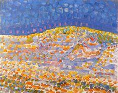 Dune II, 1909 by Piet Mondrian