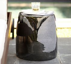 How chic is this Square Ceramic Accent Table? Looks like it belongs at a fancy european resort as the perfect landing place for a good magazine and a summery cocktail! (Ps. it's included in our 4th of July SALE!)