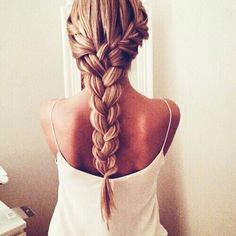 side braid + big braid