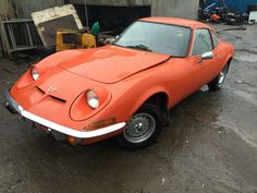 1971 Very Rare Opel GT straight in from America