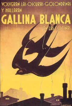 Caldos y sopas Gallina Blanca -Martra-, 1943