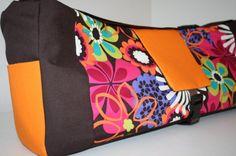 YOGA MAT Bag Pilates MAT Bag Tote Flower Shower by XcessRize, $89.99