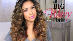 Big Wavy Hair Tutorial. Perfect for those special occasions, and I need to get a wand.