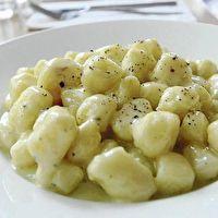 Gnocchi with Gorgonzola Sauce by Sofia