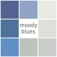 Moody Blues from @benjamin_moore  #color #paint #blue by sheila.moose