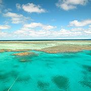 Great Barrier Reef at Cairns, Australia