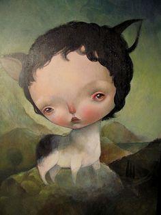 Oil on Canvas by Dilka Bear