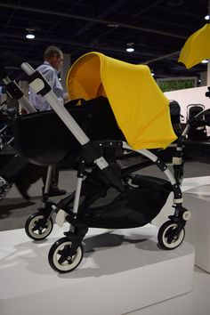 The Bugaboo Bee³ ($719) will replace the Bee Plus. The Bee³ weighs only 19.1 pounds, has a new moisture-wicking fabric, and offers a new easy-release five-point harness. The stroller also accommodates a new bassinet ($230) so it can be used from birth on up.