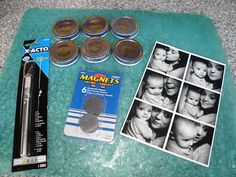 Oh, How Crafty!: Picture Magnets (made from baby food jar lids)