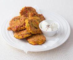 Vegetariánské placičky | Recepty Albert Tandoori Chicken, Food And Drink, Rice, Meat, Cooking, Ethnic Recipes, Kitchen, Laughter, Brewing