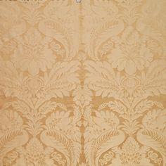 Bennet Silk Damask | 63733 in Travertine | Schumacher Fabric