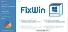 Repara erorile de Windows cu FixWin! FixWin pentru Windows 10, 8 si 7.