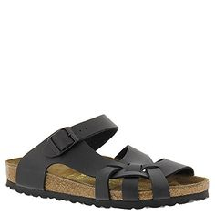 Birkenstock Womens Pisa Sandal Black BirkoFlor Size 37 EU 665 M US Women -- Read more reviews of the product by visiting the link on the image.