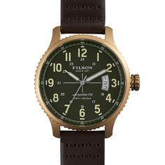 The Mackinaw Field Watch, made for Filson by Shinola