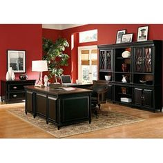 Liberty Office Collection. black office furniture