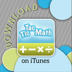 Tic Tac Math - Solve four operations against a friend to get three in a row.