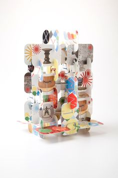 Eames House of Cards by Jamie Turpin, via Behance