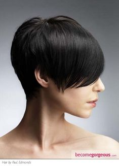 Short Close-Cropped Hair - love the back
