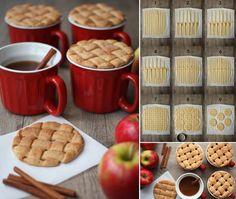 Leuk idee voor zelf gemaakt koekjes bij de koffie serveren