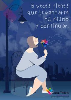 NO ESPERES QUE OTROS TE ACTIVEN, ACTÚA...  (((Sesiones y Cursos Online www.ciaramolina.com #psicologia #emociones #salud)))
