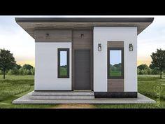 ARKIX3D - YouTube Modern House Floor Plans, 3d House Plans, Create Floor Plan, Simple House Design, Construction Cost, Wall Lantern, Home Design Plans, 3d Design, Facade
