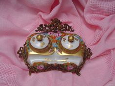 antique Limoges inkwell by Rubell's Antiques, via Flickr