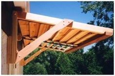 how to build awning over door | If The Awning Plans plans ...