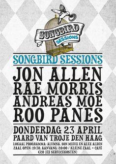 Songbird Sessions @ Paard van Troje 23-04-2015