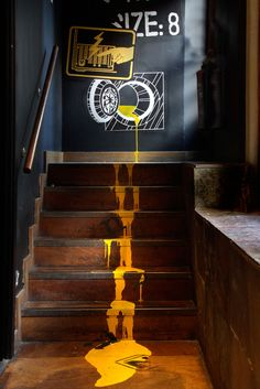 These stair graphics are a phenomenal work of art!