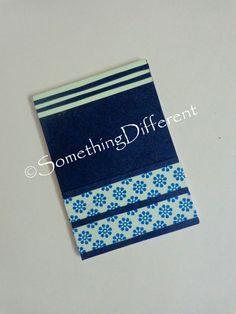 Handmade Notepad, #washi tape