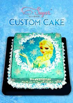 Our Frozen themed cakes are as popular as Elsa, Anna and Olaf! Order your little princess her own Disney themed Birthday Cake at Sugar the Patisserie. Call +91 22 2661 4708 or email us at sugarthepatisserie@gmail.com for enquiries. #sugarthepatisserie #customcakes #frozen #princess #birthdaycake #socute