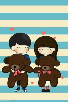 56 Best Cute Boy And Girl Images On Pinterest Chibi Couple Wall