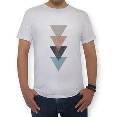 Camiseta TRIANGLES de @dudielariz | Colab55