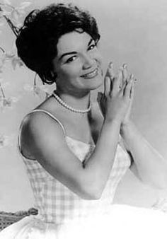 CONNIE FRANCIS ~ Oh how we loved her and still do.  Hits too numerous to mention.  She was one of Dick Clark's faves and she appeared on American Bandstand back in the day of her great fame.