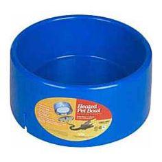 Heated Plastic 5 Quart Pet Bowl 5 Quart - Item # 21521