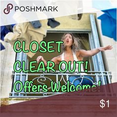🦋❤️🦋❤️Closet clear out ❤️🦋❤️🦋 Many items are choose from including women's men's and smmm Tops