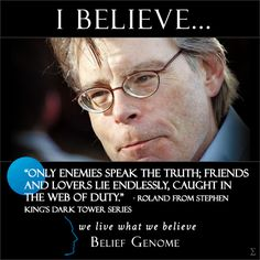 Stephen King Quotes | Belief Genome Stephen King Enemies Quote - The Open Source Religion ...