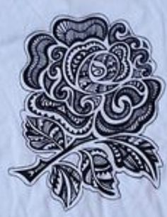 Download Free ... Rugby English Rose Tattoo Rugby Rose Nature Tattoo Rugby Tattoo to use and take to your artist.