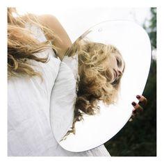 M Nuance Miroir extra plat biseauté - forme aléatoire ovale verticale-product